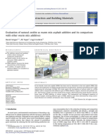 Evaluation of Natural Zeolite as Warm Mix Asphalt Additive and Its Comparison With Other Warm Mix Additives