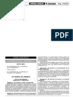 Ley General Del Ambiente - Peruano