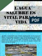 Atahualpa Fernández - El agua salubre es vital para la vida