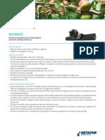 120430 PC Dripper Product Sheet Spanish