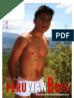 Revista Peruvianboys N° 01 Setiembre 2010