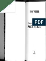 WEBER, Max. Conceitos Básicos de Sociologia