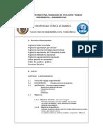 Esquema Informefinal Proy Tecnico Experimental