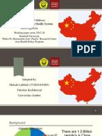 Asuransi kesehatan di china