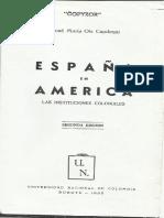 Ots Capdequi, José María - España en América