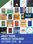 Fall 2018 UK Adult Backlist Catalog