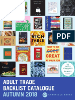 Fall 2018 UK Adult Backlist Catalog