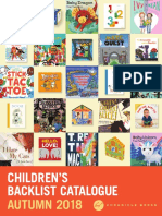 Fall 2018 UK Children's Backlist Catalog