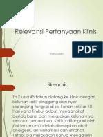3_Relevansi Pertanyaan Klinis