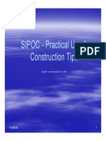 Sip Oc Practical Use and Construction Tips