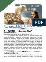 LECTIO 4 PASCUA