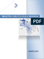 Boletin Climatologico Marzo 2017