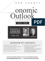 Oakland County 2018-2020 Economic Outlook