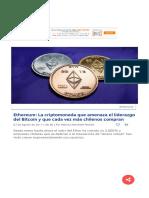 Ethereum La Criptomoneda Que Amenaza El Liderazgo Del Bitcoin.html