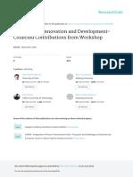 InstitutionsInnovationandDevelopment-CollectedContributionsfromWorkshop