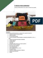 Kit Básico Para Derrames