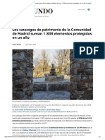 Los catálogos de patrimonio de la Comun...lementos protegidos en un año _ madrid.pdf