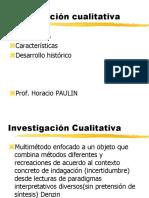 Investigacion cualitativa, análisis e historia