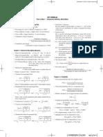 Key Formulas Tables