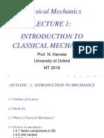 Lecture1 Mechanics Handout