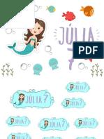 Kit Cumple Sirena Julia 7