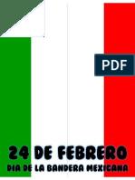 24 de Febrero Dia de La Bandera Lapbook