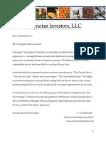 Contrarian Investors - Subscription Doc
