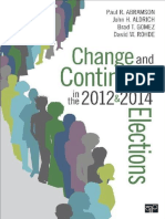 Paul R. Abramson Et Al. - Change and Continuity in the 2012 and 2014 Elections (2015, SAGE Publications)