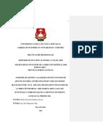 Auditoría de Gestión, Liquidación de Convenios