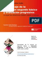 Ppt Evaluación Progresiva Para Conferencia Online Cedle Agencia de Calidad