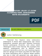 PEMBANGUNAN JALAN Lc (Lean Clearing) Meri