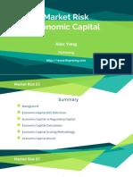 Market Risk Economic Capital Calculation