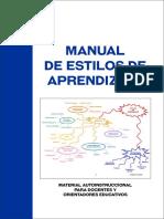 Manual Estilos de Aprendizaje OK