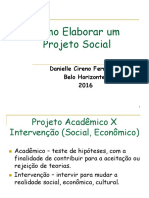 UNIDADE 2 Como Elaborar Um Projeto Social
