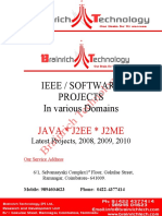 IEEE Project Titles 2010 - 2011