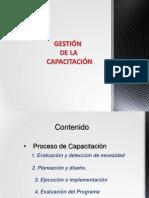 Proceso de Capacitación , presentación