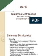 Sistemas Distribuidos Professor Andre Gustavo