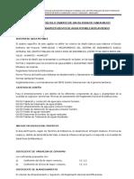 Informe de Cálculo Localidad de Marambuco