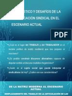 P.P. Sindicalismo Diagnóstico y Desafíos - Copia