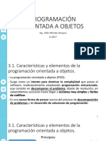 3 Programación Orientada a Objetos (1)