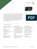 Blackmagic Pocket Cinema Camera 4k Techspecs