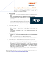 Cartilla Informativa-Registro de Derechohabientes en Essalud