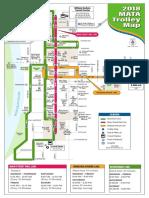 2018 MATA Trolley Map