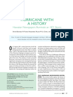 Hurricane with a History