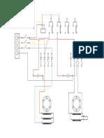 Control de motores con un conmutador y un relé auxiliar