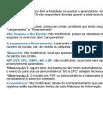 Exercícios - Lançamentos - A Realizar CONTABILIDADE PÚBLICA STN