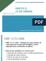 Apresentação 04. NBR 12721 - Custos de obra.pdf
