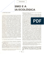 Joan Martinez Alier - O Marxismo e a Economia Ecológica