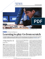 Learning to Play Go From Scratch