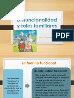 Disfuncionalidad y Roles Familiares
